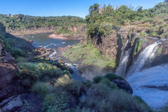 Foz do Iguassu Argentina Brazil Royalty Free Stock Photo