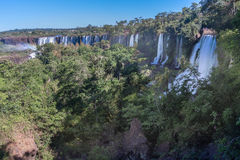 Foz do Iguassu Argentina Brazil Royalty Free Stock Photography