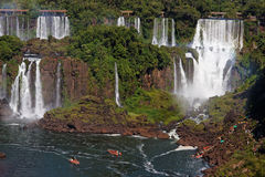 Foz do Iguassu Argentina Brazil  Royalty Free Stock Photo