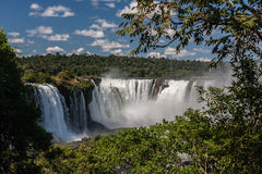 Foz do Iguassu Argentina Brazil Stock Photos