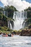 Foz do Iguassu Argentina Brazil Stock Photo