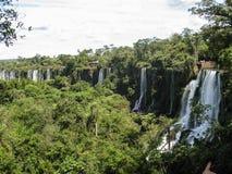 Foz do Iguassu Argentina Brazil Royalty Free Stock Images