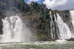 Foz do Iguassu Falls Argentina Brazil Stock Photos
