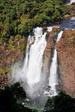 Foz do Iguassu Falls Argentina Brazil Stock Photography