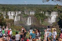 Foz do Iguassu Falls Argentina Brazil Royalty Free Stock Image
