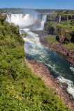 Foz do Iguassu Falls Argentina Brazil Stock Images