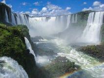Foz do Iguassu Falls Argentina Brazil Stock Photo