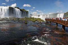Foz do Iguassu Park Waterfalls Parana Brazil Stock Image