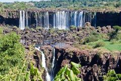 Foz doet Iguassu Argentinië Brazilië Royalty-vrije Stock Afbeeldingen