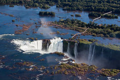 Foz fa Iguassu Argentina Brasile Fotografia Stock Libera da Diritti