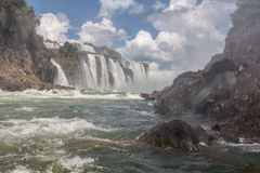 Foz fa Iguassu Argentina Brasile fotografie stock libere da diritti