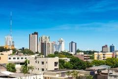 Foz font Iguazu Photos libres de droits