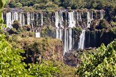 Foz hace Iguassu la Argentina el Brasil Imagenes de archivo