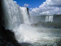Foz hace Iguassu la Argentina el Brasil Imagen de archivo libre de regalías