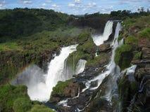 Foz hace las caídas de Iguacu Imagen de archivo libre de regalías