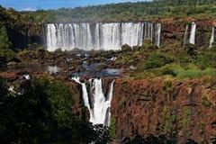 Foz hace las caídas de Iguacu imagenes de archivo