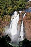 Foz hace las caídas de Iguassu fotografía de archivo