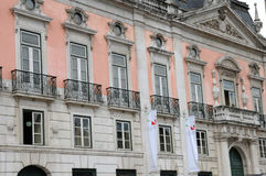 Foz palace in Lisbon Royalty Free Stock Photos