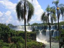 Foz tun Iguacu Stockfotos