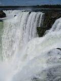 Foz tun Iguacu Stockbild