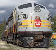 FP7A Royal Canadian Pacific Locomotive Royalty Free Stock Image
