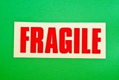 Frágil en verde imagen de archivo libre de regalías