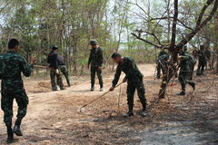 Frälsningsarmén Thailand Arkivbilder