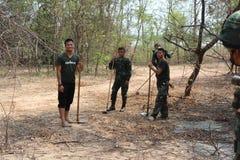 Frälsningsarmén Thailand Arkivfoto