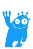 främmande blue stock illustrationer