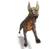 främmande farlig hundödlahud vektor illustrationer