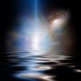 Främmande hav Arkivbilder