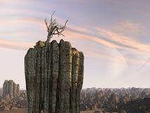 främmande planet Royaltyfria Bilder