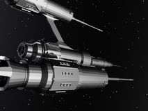 främmande spaceship Royaltyfri Fotografi