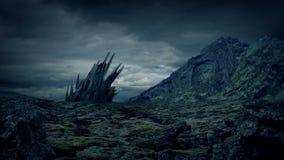 Främmande struktur på den steniga planeten