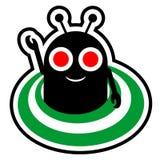 Främmande symbol Arkivbild