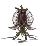främmande varelse royaltyfri illustrationer