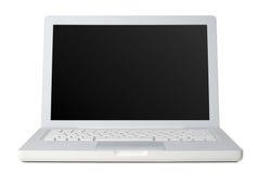 främre bärbar dator Royaltyfri Foto