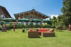 Främre gård i Bayern Royaltyfri Fotografi