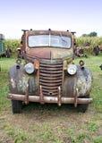 främre gammal lastbil Fotografering för Bildbyråer