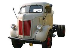 främre gammal lastbil för hörn Royaltyfria Foton