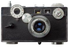 främre gammal rangefindersikt för kamera Fotografering för Bildbyråer