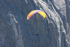 främre glidflygplanberg para Royaltyfri Foto