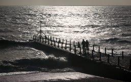 främre hav Arkivbilder