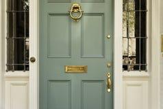 främre home exklusivt för dörr Royaltyfri Fotografi