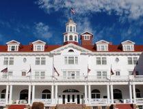 främre hotell stanley royaltyfri bild