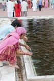 främre india för ablution moské s Royaltyfria Bilder