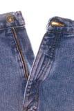 främre jeans för denim Arkivfoto