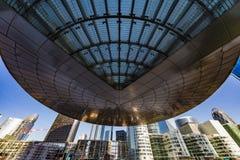 Främre kontor av moderna byggnader Royaltyfri Foto