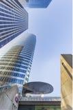 Främre kontor av moderna byggnader Royaltyfria Bilder