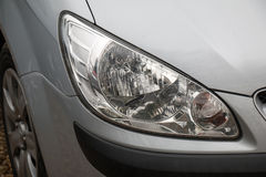 främre lampa för bil Arkivbilder
